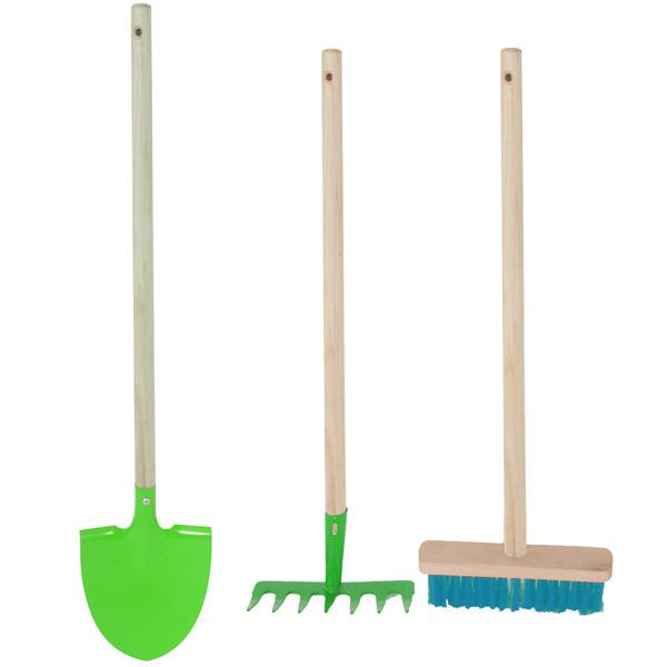 Set de 3 outils de jardin