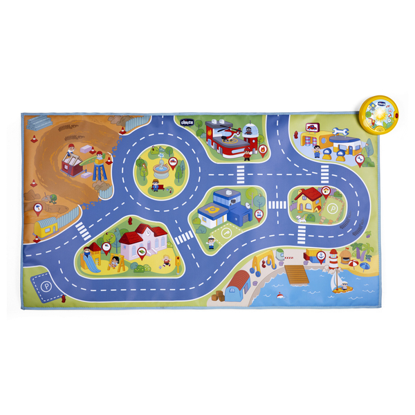 Tapis de Jeu City Mini Turbo Touch électronique