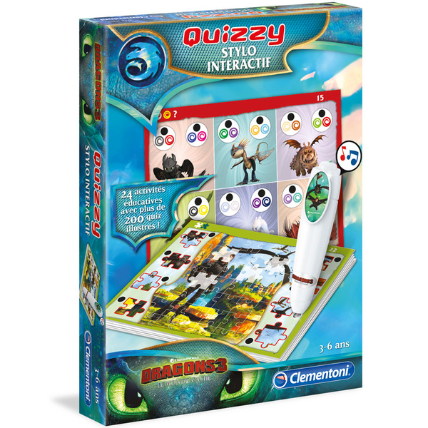 Stylo interactif Quizzy Dragons 3
