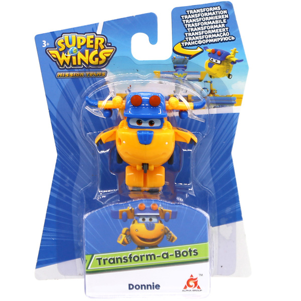 Super Wings-Figurine transformable saison 3