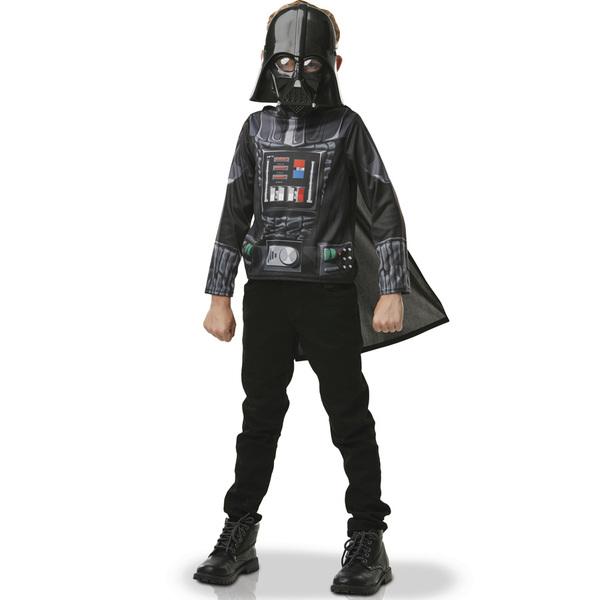 Star Wars-Plastron avec masque Dark Vador 3/6 ans