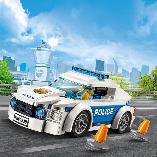 60239 - LEGO® City La voiture de patrouille de la police