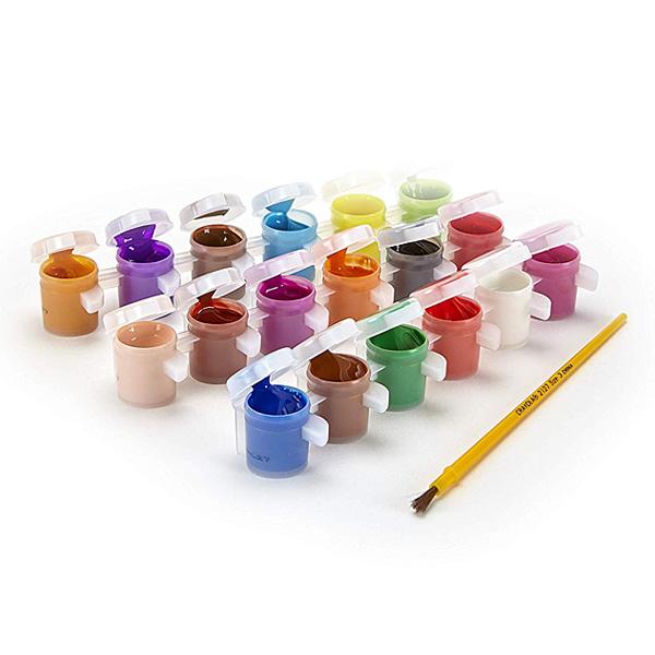 Recharge palette de peinture 18 pots