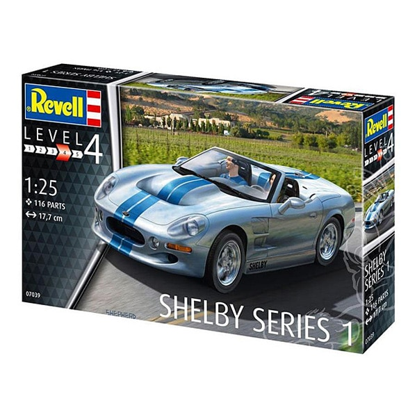Maquette de voiture Ford Shelby Series 1