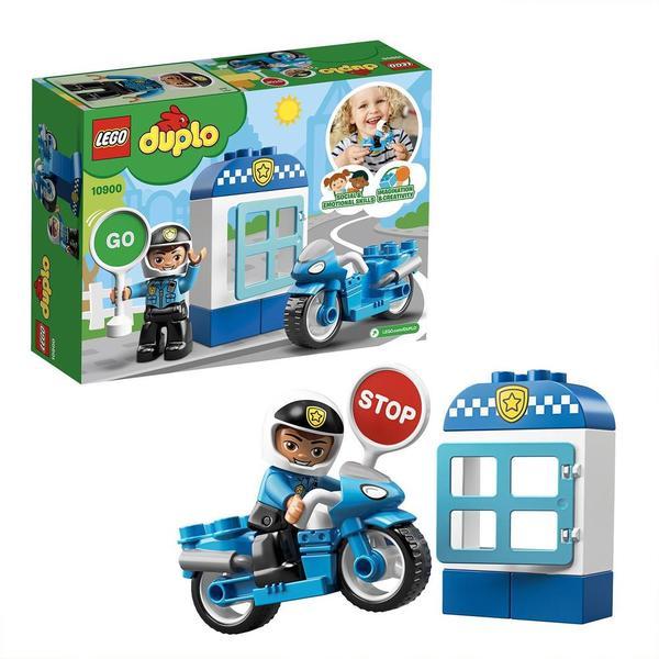 10900-LEGO® Duplo Ma ville La moto de Police