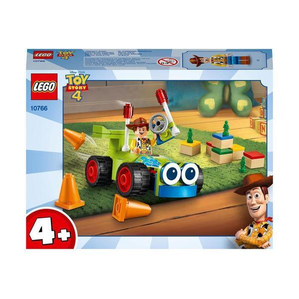 10766-LEGO® Toy Story 4 Disney Pixar Woody et voiture radiocommandée
