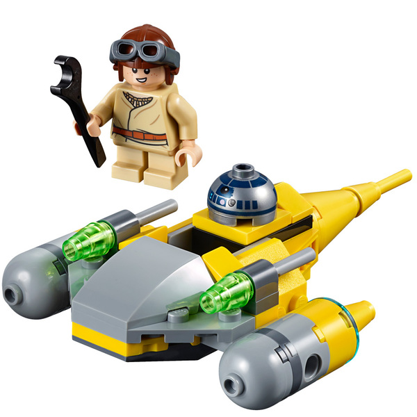 Starfighter Wars Microvaisseau 75223 Naboo Star Lego® TuZOiwPkX