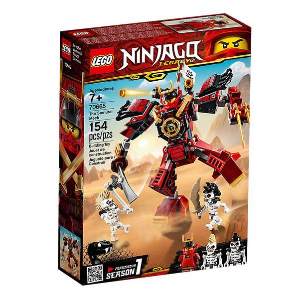 70665 - LEGO® NINJAGO Le robot samouraï
