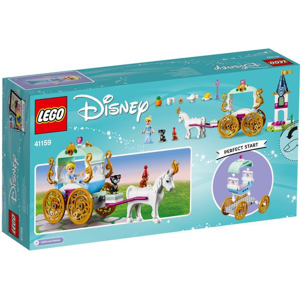 41159-LEGO® Disney Princesses Le carrosse de Cendrillon