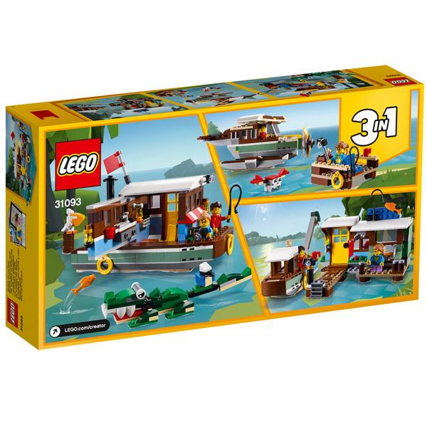 31093 - LEGO® Creator La péniche au bord du fleuve