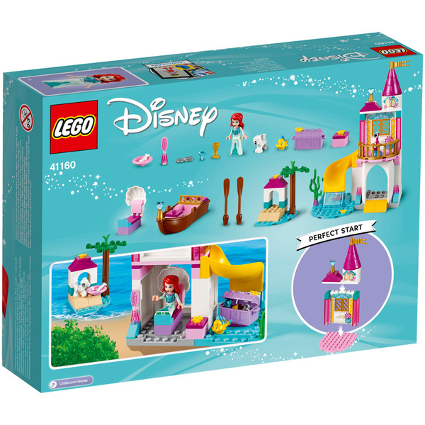 41160-LEGO® Disney Princesses Le château en bord de mer d