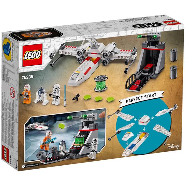 75235-LEGO® Star Wars Chasseur stellaire X-Wing de la tranchée