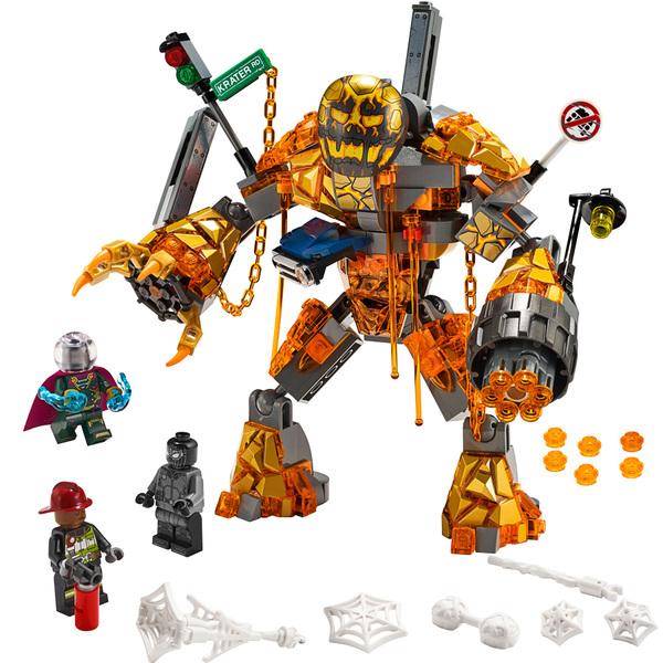De Et Man 76128 From Home Bataille L'homme Far La Métal Marvel Spider Lego® JcK3l1TF