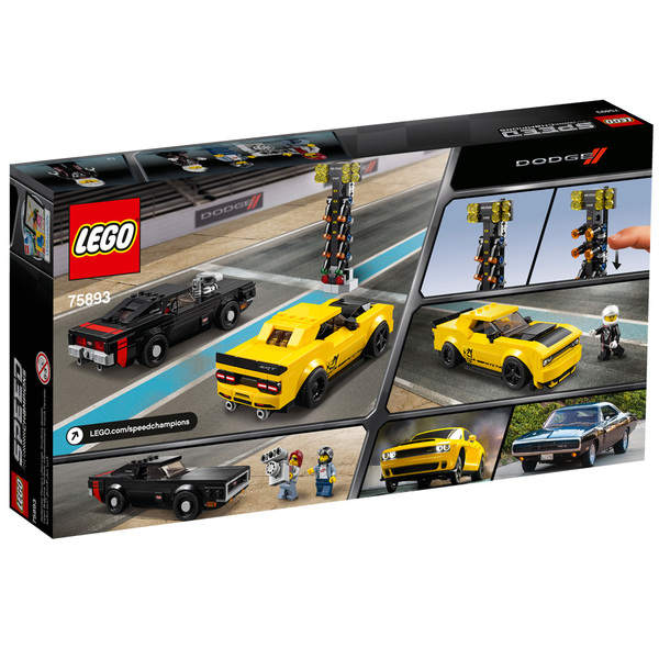 Demon 75893 Charger Lego® Speed Champions Et 1970 Rt Dodge Challenger 2018 Srt kXTZOPui