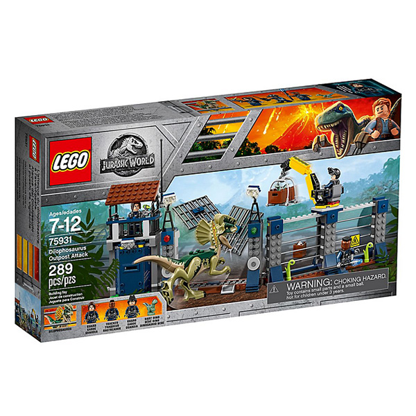 75931-LEGO® Jurassic World L´attaque de l´avant-poste par le Dilophosaurus