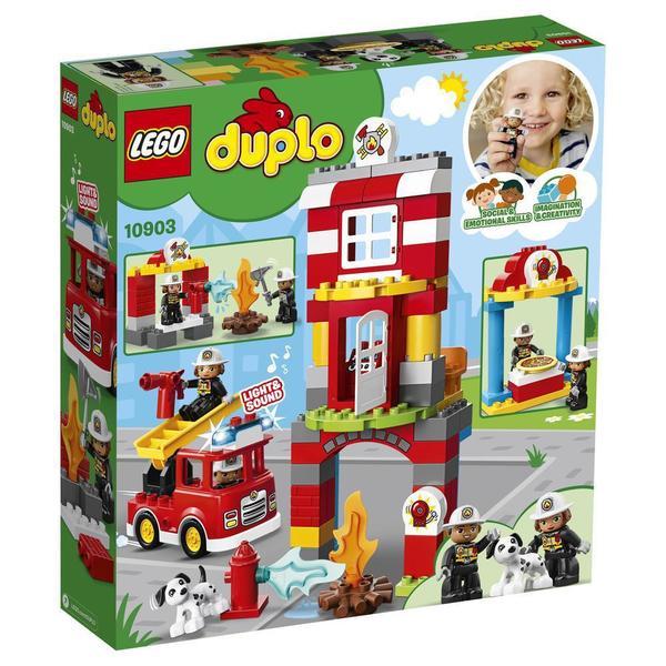10903 - LEGO® DUPLO - La caserne de pompiers