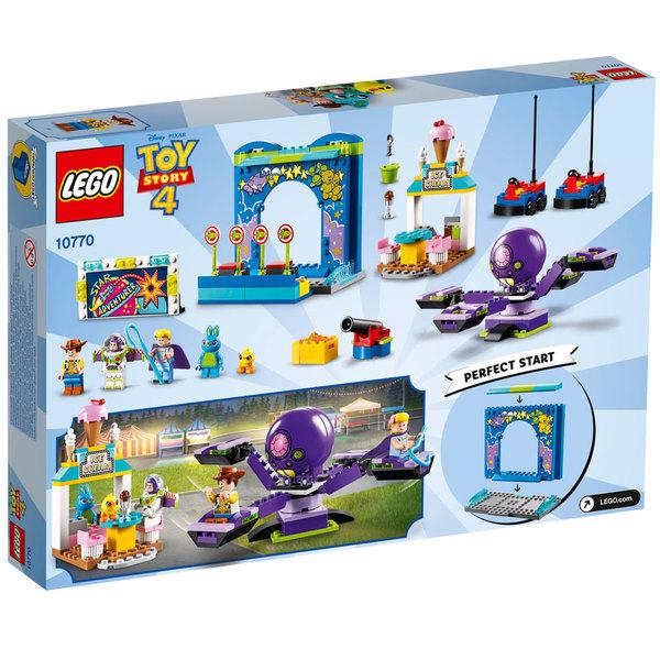 10770-LEGO® Toy Story 4 Le carnaval en folie de Buzz et Woody