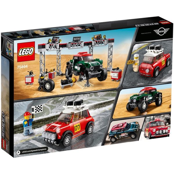 75894 - LEGO® Speed Champions Mini Cooper S Rally 1967 et Mini John Cooper Works Buggy 2018