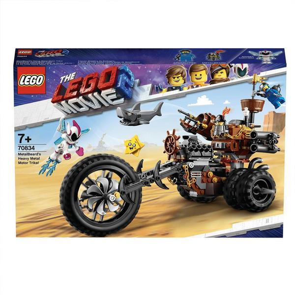 70834 - LEGO® MOVIE 2 Le tricycle motorisé en métal de Barbe d'Acier