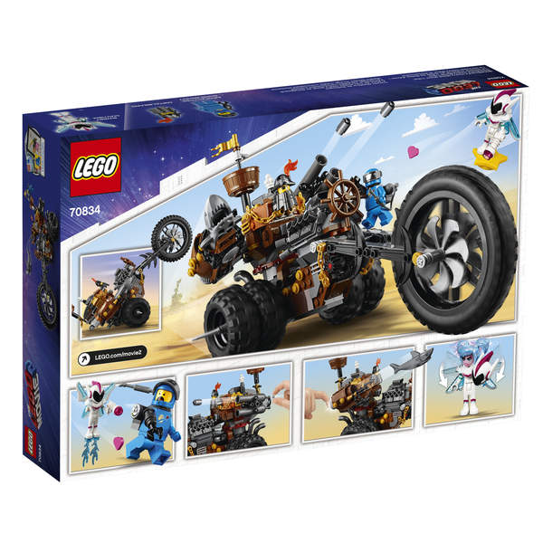 70834 - LEGO® MOVIE 2 Le tricycle motorisé en métal de Barbe d