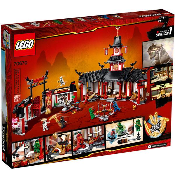 70670 - LEGO® NINJAGO Legacy Le monastère de Spinjitzu