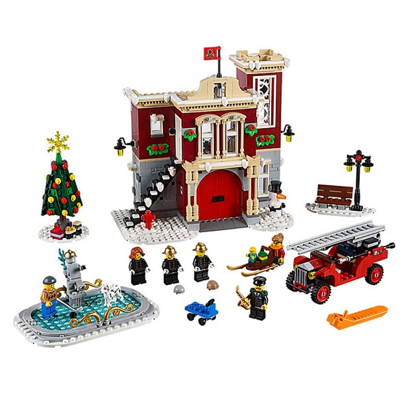 10263 - LEGO® Creator Expert La caserne des pompiers du village d'hiver
