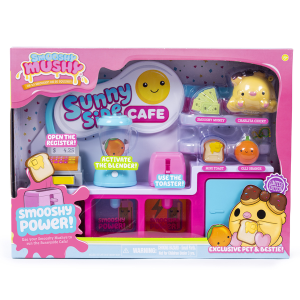 Café Playset Smooshy Mushy Besties