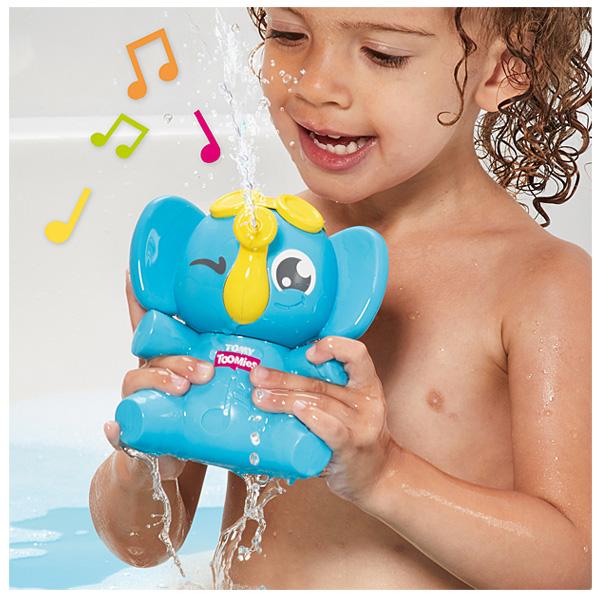 Jouet de bain mon éléphant farceur