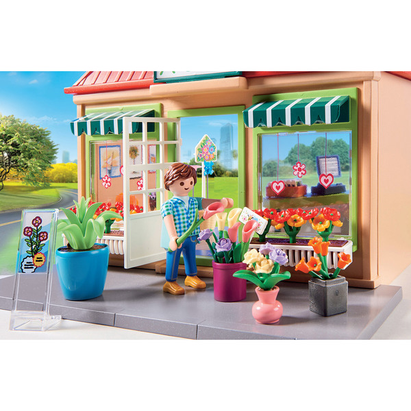 70016 - Playmobil City Life - Magasin de fleurs