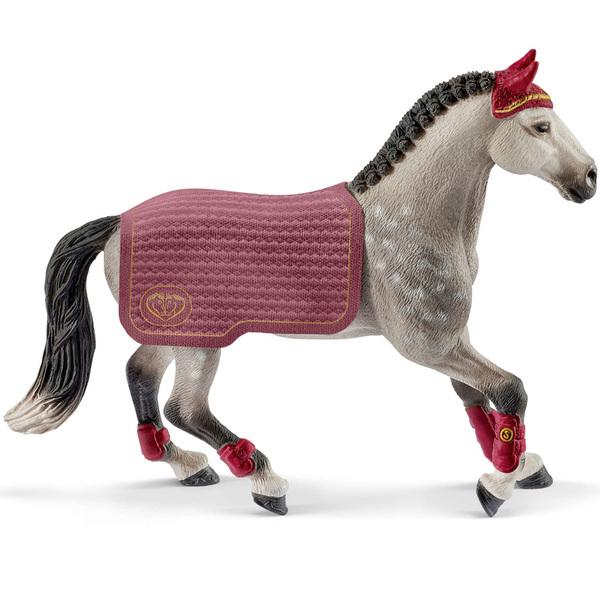 Figurine Jument Trakehnen concours équestre