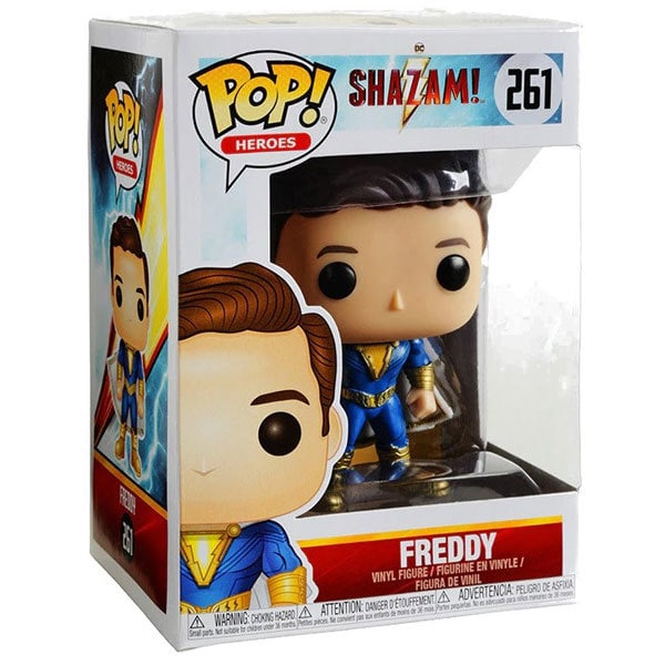 Figurine Freddy Freeman 261 Comics Shazam Funko Pop Heroes