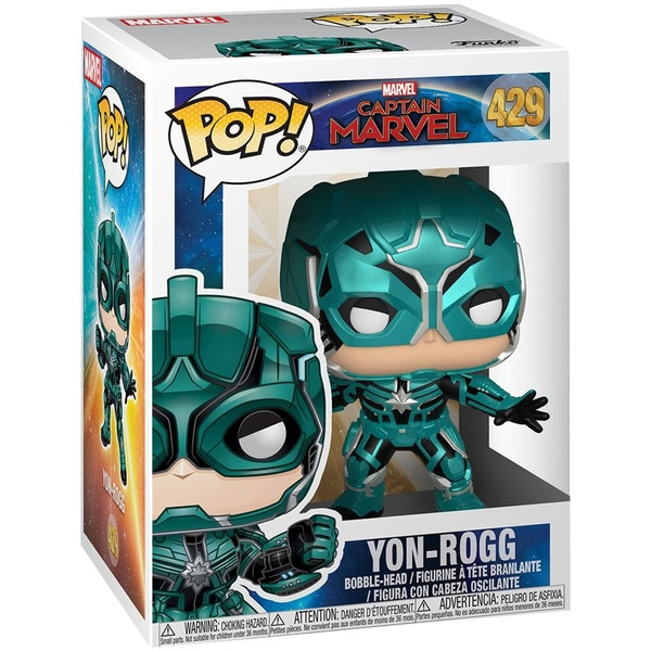 Figurine Yon-Rogg 429 Captain Marvel Funko Pop