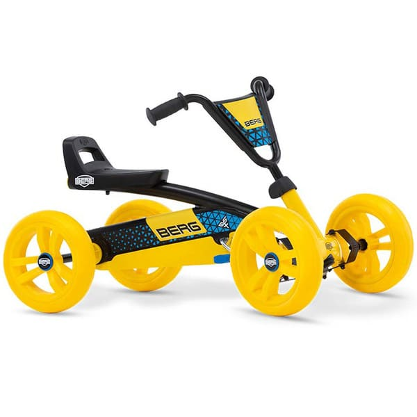 Buzzy BSX Kart à pédales jaune