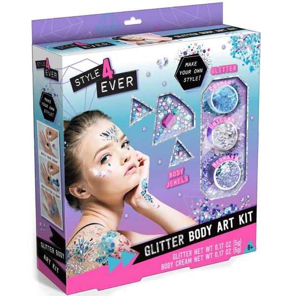 Kit art corporel paillettes
