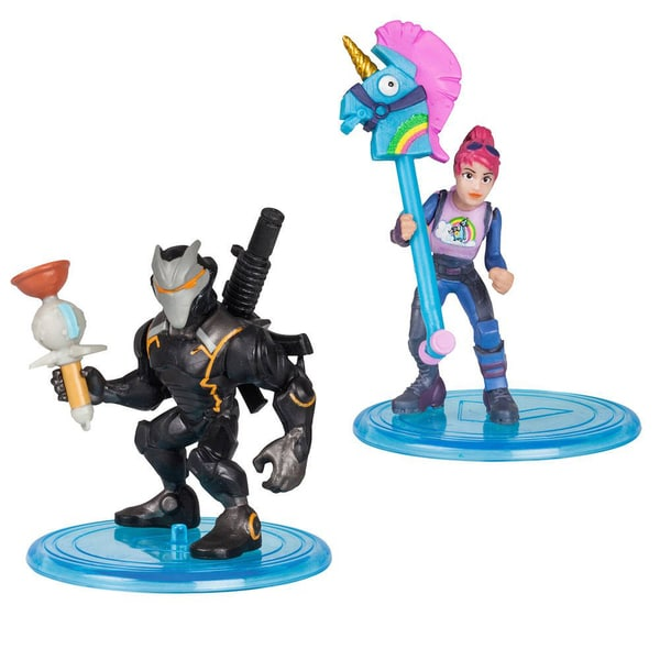 Fortnite-2 figurines Battle Royale 5 cm