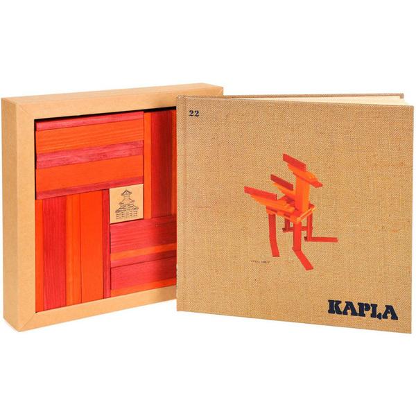 Coffret Kapla Couleur Rouge Orange Avec Livre