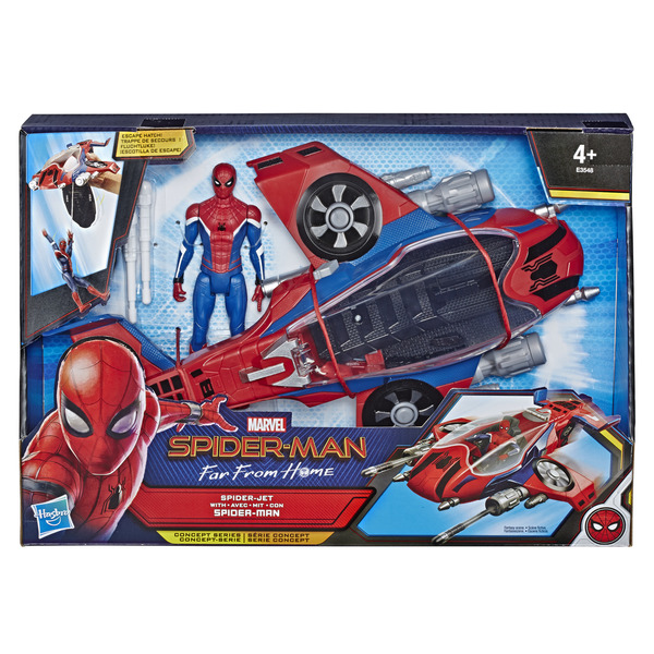 Figurine Spiderman avec son Spider-Jet - Spiderman Far From Home