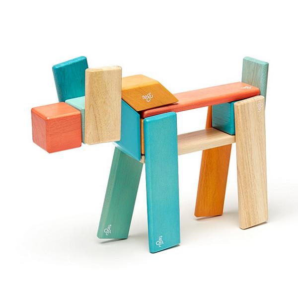 Bloc de bois Tegu Sunset 24 pièces