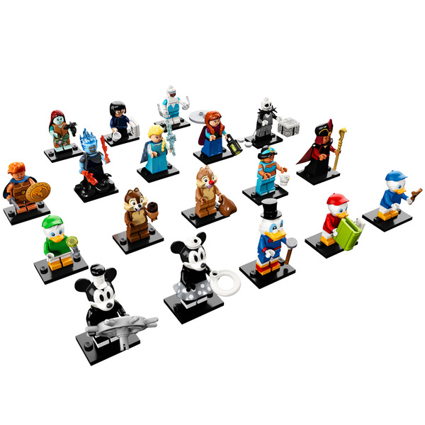 2 Disney 71024 Lego® Série Minifigurines OPiTukXZ