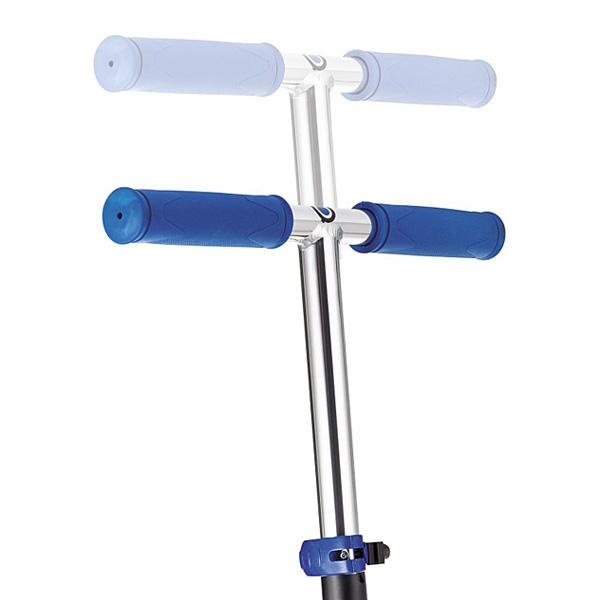 Trottinette pliable 125 bleue