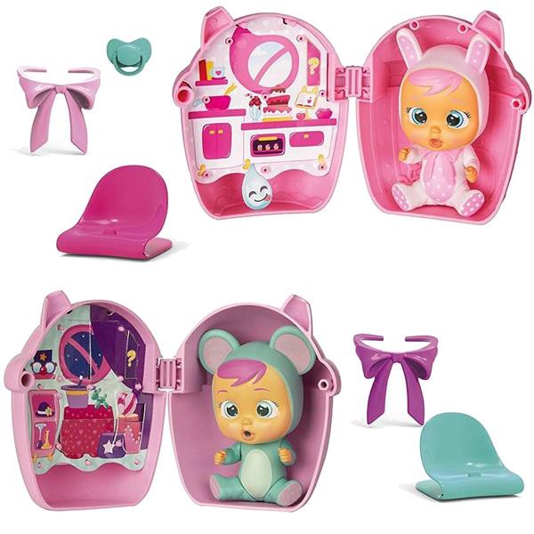 Poupée Cry Babies maison biberon