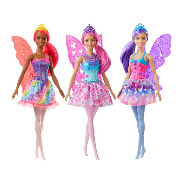Barbie Dreamtopia-Fée cheveux roses