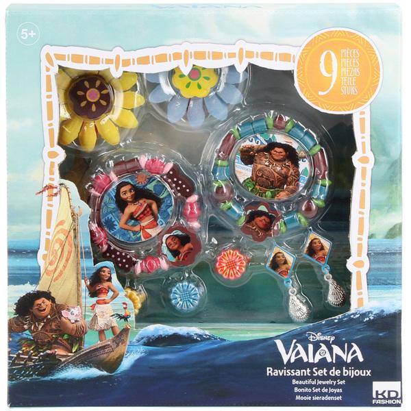 Coffret de bijoux en bois Vaiana - Disney Princesses