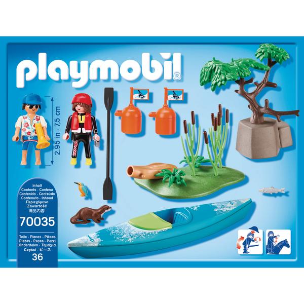 70035 - Playmobil StarterPack - Sportif et kayak
