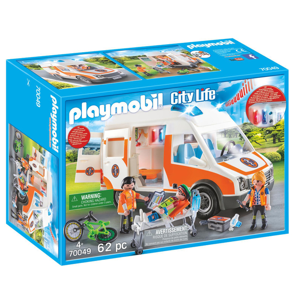 70049 - Playmobil City Life - Ambulance et secouristes