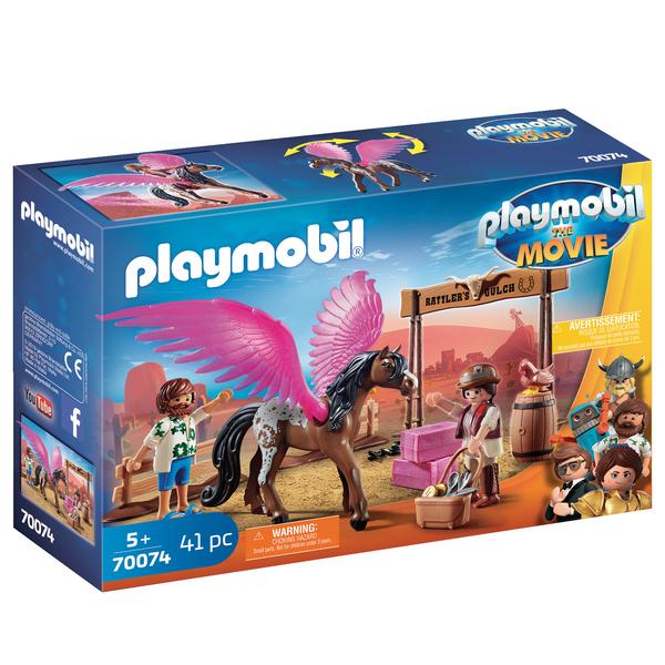 70074 - Playmobil The Movie - Marla & Del avec cheval ailé