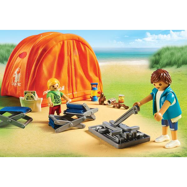 70089 - Playmobil Family Fun - Tente et campeurs