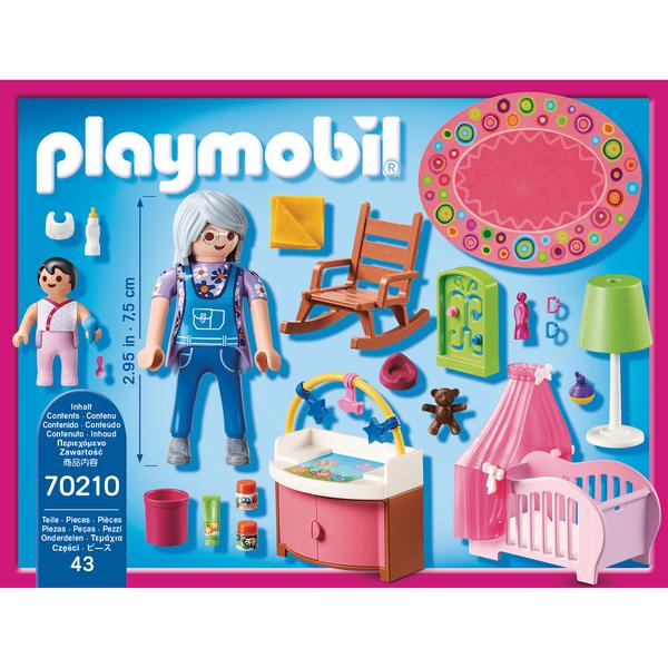 70210 - Playmobil Dollhouse - Chambre de bébé