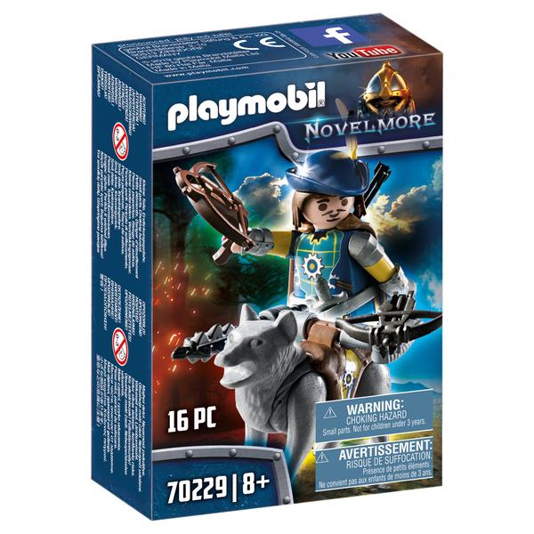 70229 - Playmobil Novelmore - Arbalétrier et loup