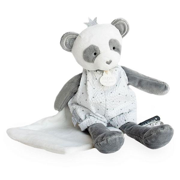 Doudou Attrape rêve panda pantin